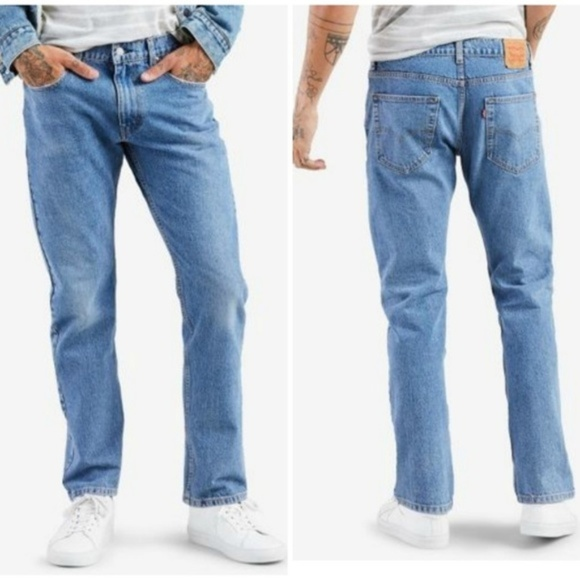 aff783defbdd44 Levi's Jeans | Levi Mens 502 Regular Taper Fit Warp Stretch Jean ...